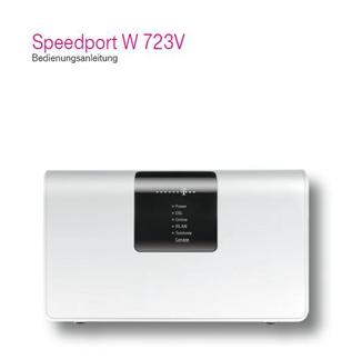 Speedport W 723V Bedienungsanleitung